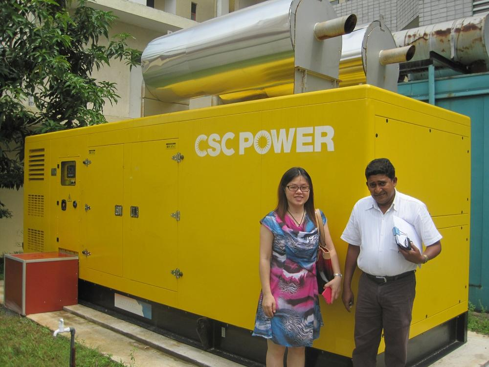 Industry Soundproof Silent 500KVA 500kw 3 Phase diesel power generator Set Price