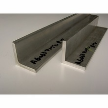 Hot sale 63S L-shaped extruded material aluminum angle bar made in Japan