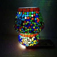 Traditional Crystal lamp/Beautiful Chandelier Light/Indoor Mosaic Table Lamp