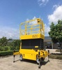High Working Capacity Hydraulic Self Propelled Scissor Lift Table