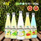 100% Coconut Water With Pulp In Glass Bottle 350 ml From fresh coconut indonesia