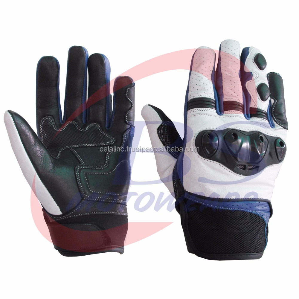 OEM Custom Made Windproof Leather Motorcycle Racing Găng Tay