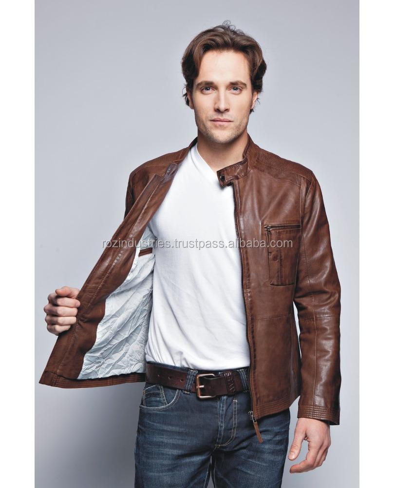 Bomber Style Leather Jacket, Bomber Style Leather Jacket Suppliers ...