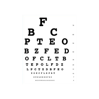 Snellen Vision Eye Test Chart For Sale Buy Eye Test Chartsnellen