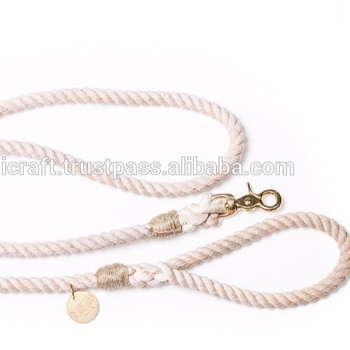 Natural Cotton Rope Dog Leash 5 Ft Long - Buy Braided Rope Dog Leash,Nylon  Rope Dog Leash,Dog Leash Leather Product on Alibaba com
