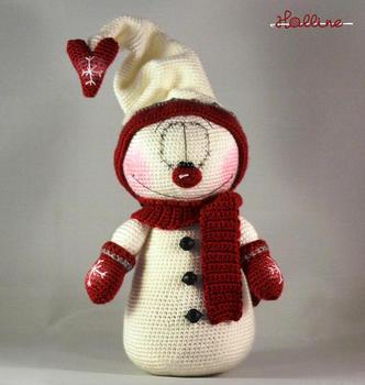 Papá y Mamá Noel Potato - Galamigurumis - Amigurumi Crochet Dolls ... | 350x332