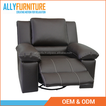 Luxury Leather Single Recliner Chair Single Motion Sofa 100% Leather With  Modern Motion Sofa Furniture