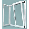 Australia market hot sale double glazed tilt and turn window with German hardware