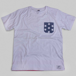 Men's cotton custom print t-shirt