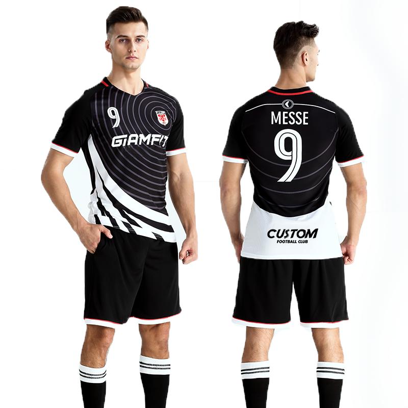 Cheap Training Equipment Soccer Uniform Team Football Soccer Jersey, Customized color