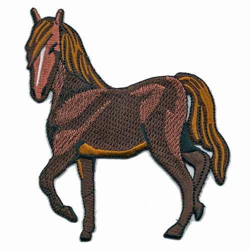 Embroidery Patches Product Type and Embroidered Technics Heat Press Embroidery Applique Patches