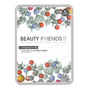 Beauty Friends II Collagen Sheet Mask (Exclusive Distributorship, Private Label, Product Customize)