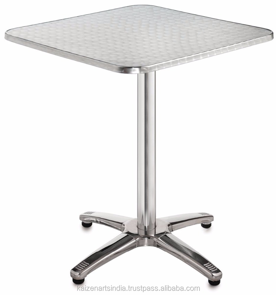 coffe table with wheel / tall table with square top