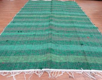 Beautiful Indian Cotton Rug Dari Chindi Rugs Floor Mat Multicolor