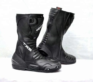 Motorbike Shoes / Custom Racing boots / Protective Leather boots