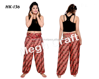 c2fec5b3ba3 Palazzo Style Bell Bottoms Flare Trousers- Boho Hippie High Waist Wide Leg  Long Trouser Flared