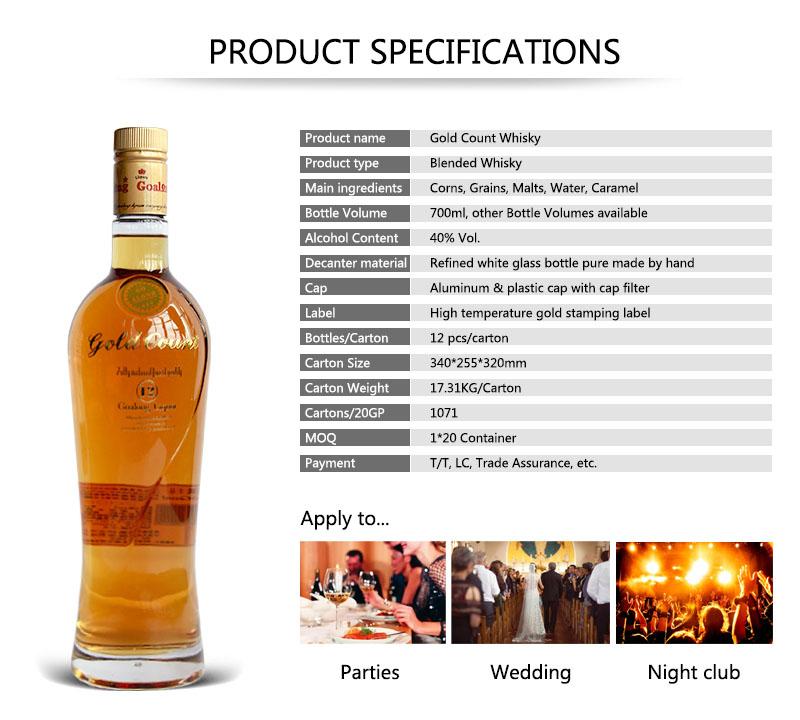 Goalong Liquor Export Bottle Whiskey With Best Price,Private Label Bottling  Whiskey,Bulk Single Malt Scotch Whisky - Buy Export Bottle Whiskey With