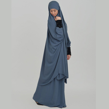 Jilbab Khimar Malhafa Muslim Women Clothing Islamic Dress