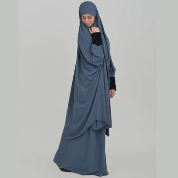 Jilbab Khimar Malhafa Muslim Women Clothing Islamic Dress - Buy ...