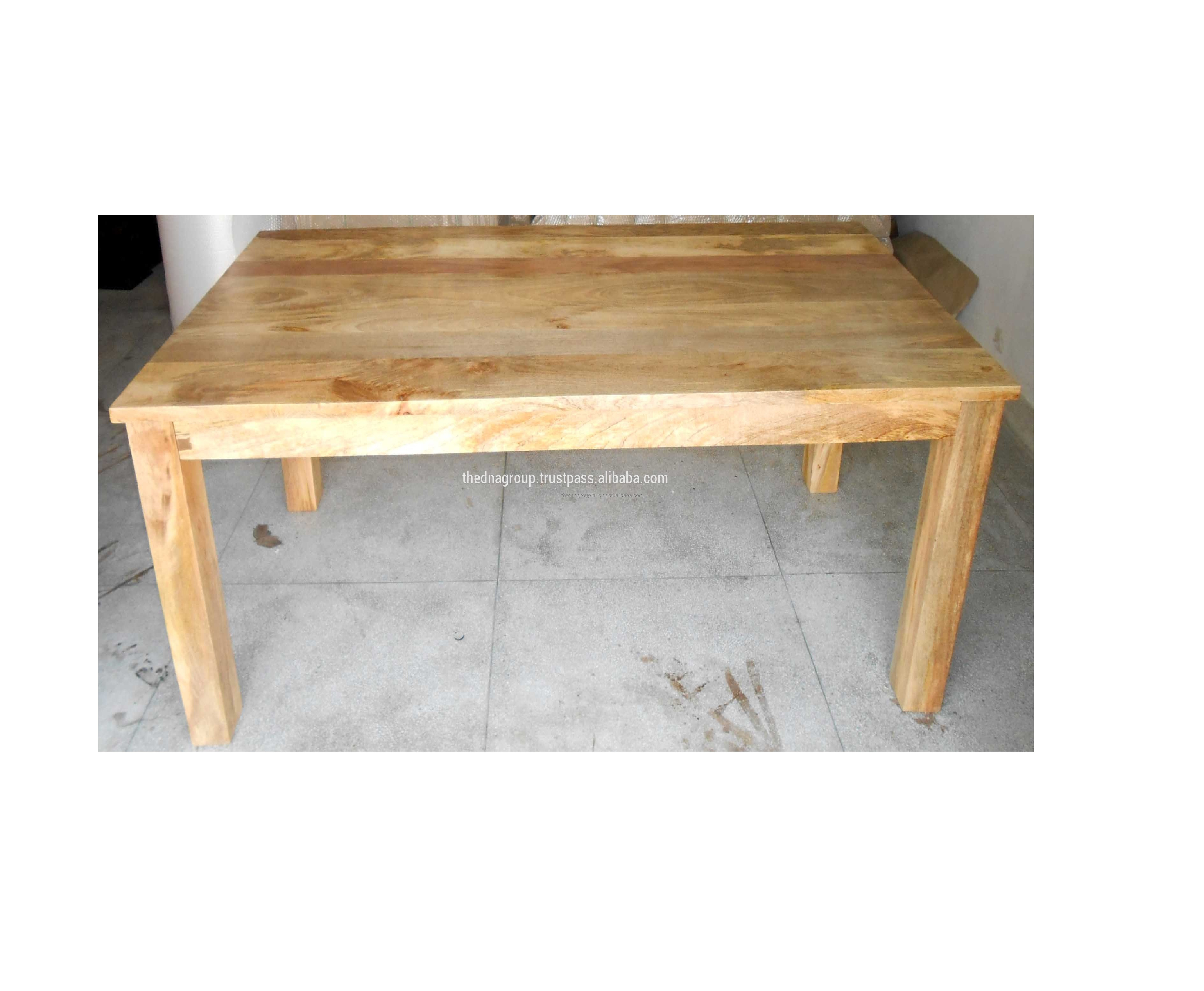 Mango Wood Dinning Table Rustic Finish With Solid Legs Buy Mango Wood Dinning Table Rustic Finish With Solid Legs Vintage Dining Table Rustic Finish Antique Dining Tables Product On Alibaba Com