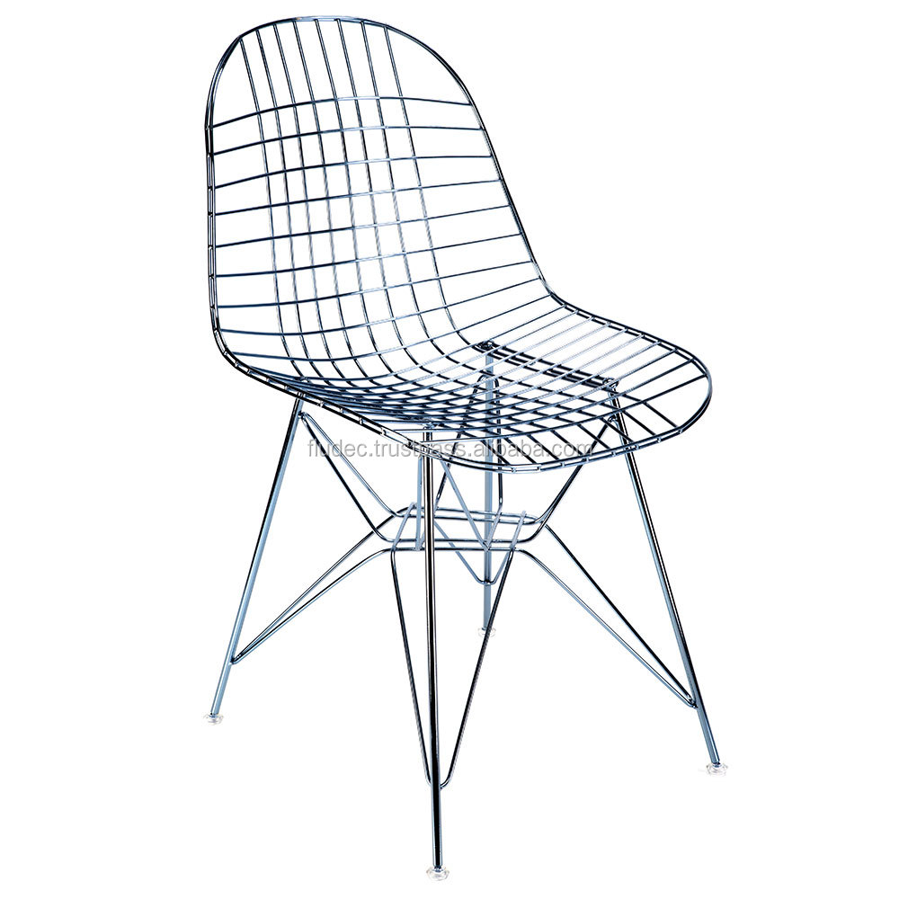 Carlton | Coffee Shop Decoration | RWC - 00695 | Golden Wire Chair | Fast and Safe Delivery