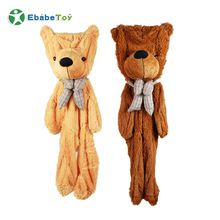 Ebabe custom factory Gigante Realistico <span class=keywords><strong>animale</strong></span> Teddy Bear giocattoli/<span class=keywords><strong>Unstuffed</strong></span> Peluche pelle d'orso Shell