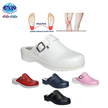 f07963fd34 Best Clogs Slippers Footwear for Plantar Fasciitis Heel Spurs With Silicone  Heel
