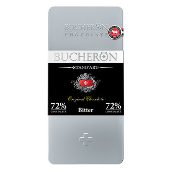 BUCHERON STAND'ART - Dark chocolate, 72% cocoa