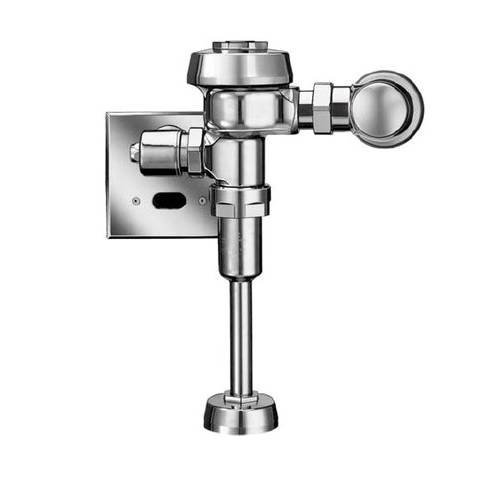 Sloan ROYAL 186-0.5 ES-S Royal Optima Exposed, Hardwired, Automatic Urinal Flush Valve - 0.5 GPF High Efficiency