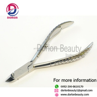 Good Quality Nail Art Design Stainless Steel Dead Skin Cuticle Nail Nipper for Foot or Hand Use