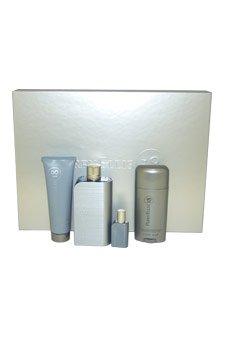 Perry Ellis 18 by Perry Ellis for Men - 4 Pc Gift Set 3.4oz EDT Spray, 3oz After Shave Balm, 2.75oz Alcohol Free Deodorant Stick, 7.5ml Mini EDT Spray