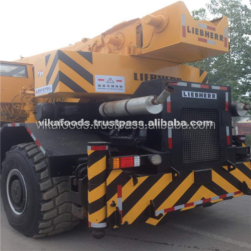 used German made Liebherr grove brand rough terrain crane 50t 80t 100t hot sale