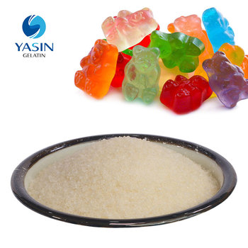 unflavored gelatin substitute for food additives gummy bear