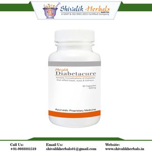 Diabetes Capsule Ayurvedic Herbal Medicine for Diabetes and Its Related  Complication