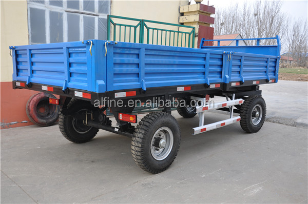 Hot sale factory price tractor trailer with different capacity