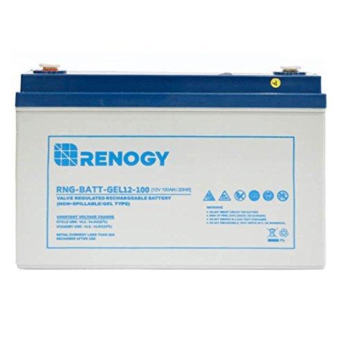 Renogy RNG-BATT-GEL12-100 Deep Cycle Pure Gel Battery 12V 100Ah