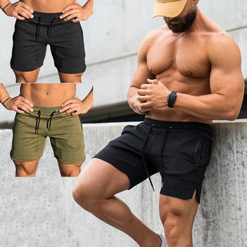 99e23832b378d Men's High Quality Sports Training Bodybuilding Summer Shorts Workout  Fitness GYM Short Pants