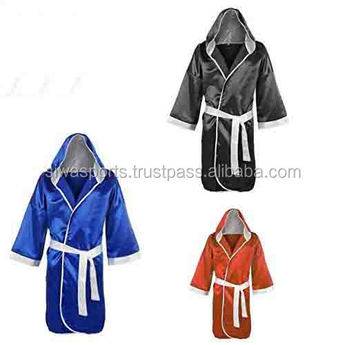 Personalised Boxing Robes: Custom Top Quality Boxing Robe,Sublimated,Embroidery