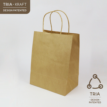 Medium Paper Bag W String Handle
