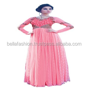 Latest And Modern Designer Full Length Anarkali Gown Suits For Woman ...