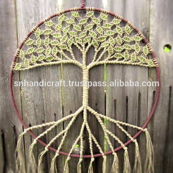 Large Macrame Wall Hanging Large Dream Catcher Tree Of