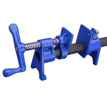 Pipe clamp woodworking clamp fixing for tube clamps
