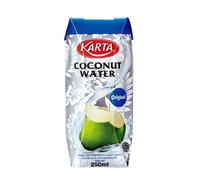 100% Pure & Natural Coconut Water - 6's x 4 x 250ml