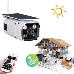 Smart solar panel battery powered led street light 2MP outdoor waterproof  4G SIM wireless PIR cctv security wifi ip solar camera