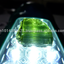 Natural Dark Green Tourmaline Rough Raw Gemstone