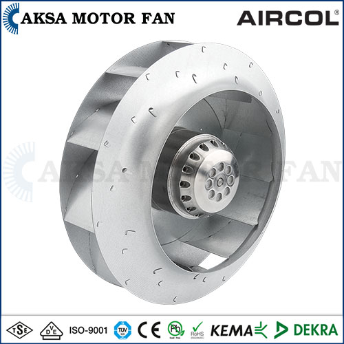 AKS BMF SERIES - Backward Inclined Fan with External Rotor Motor