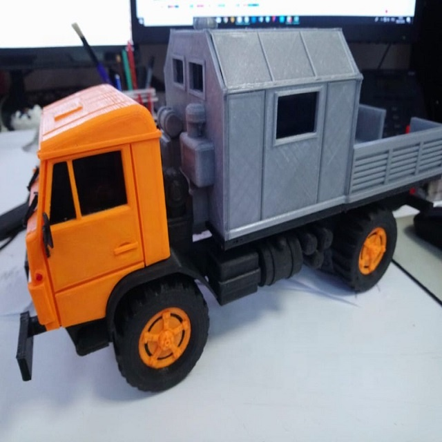 Customized Polymer Miniature Scale Models