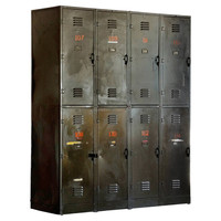 Industrial Rustic Metal Chest of Drawer/ Industrial Metal Storage Cabinet