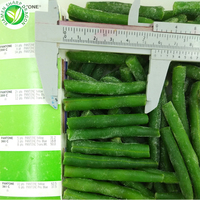 Wholesale Export IQF Processed Frozen Cut Green Beans
