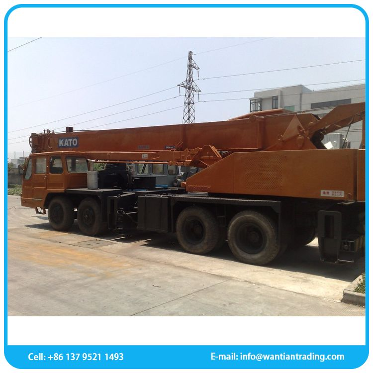 Cheap for sale heavy equipment 32 ton used crane